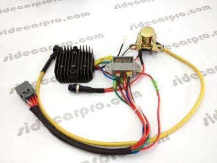 cj750 parts 12v upgrade voltage regulator flasher start rectifier