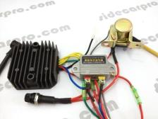 cj750 parts 12v upgrade wire assembly rectifier voltage regulator flasher start