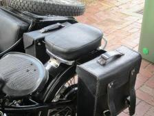 leather panniers sidecar ammunition installation