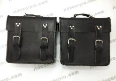 cj 750 leather pannier black CJ750 parts ural dnepr
