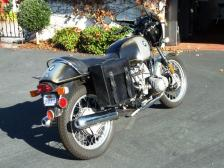 BMW R90S leather saddlebags pannier