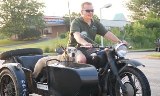 cj750 r71 sidecar dog Illinois