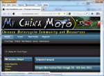 My China Moto forum and sidecar pro